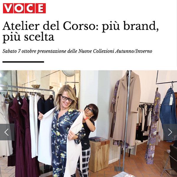 Atelier del Corso: più brand, più scelta