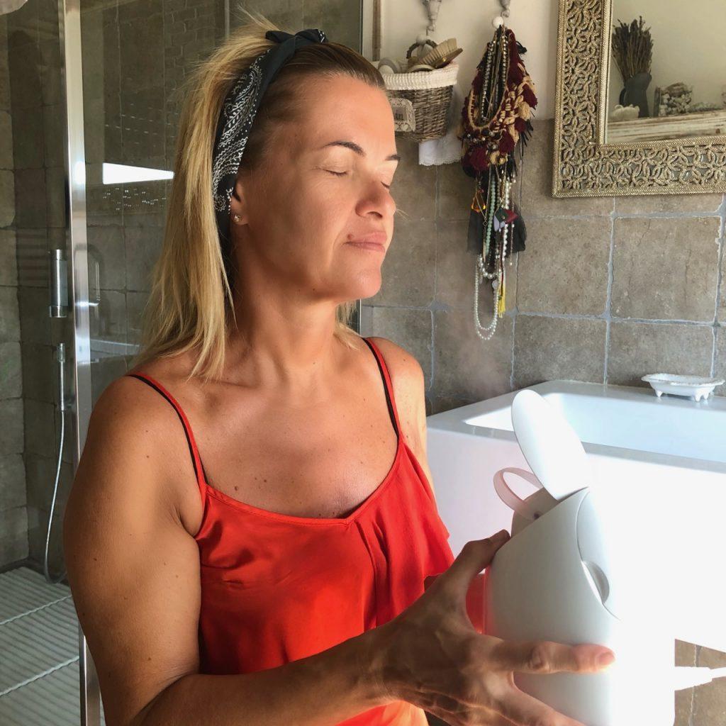 sauna facciale