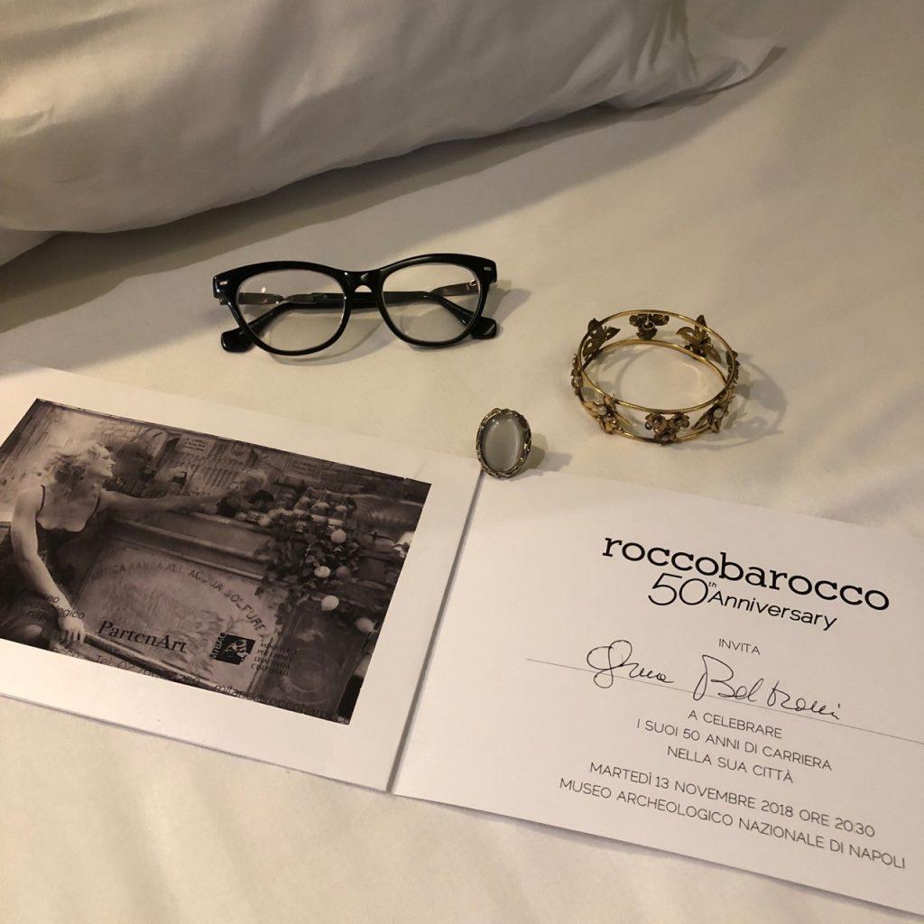 rocco barocco 50 anniversary