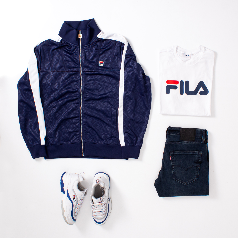 goccia clothing abbigliamento fila