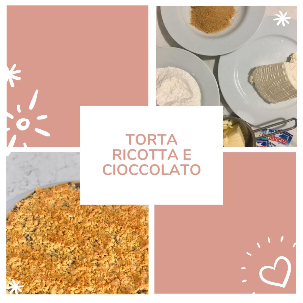 torta ricotta e cioccolato 6