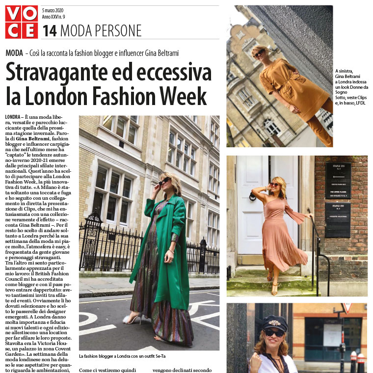 Stravagante ed eccessiva la London Fashion Week