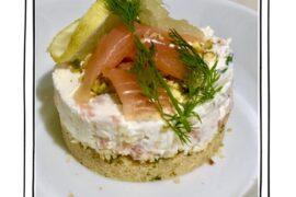 cheescake al salmone